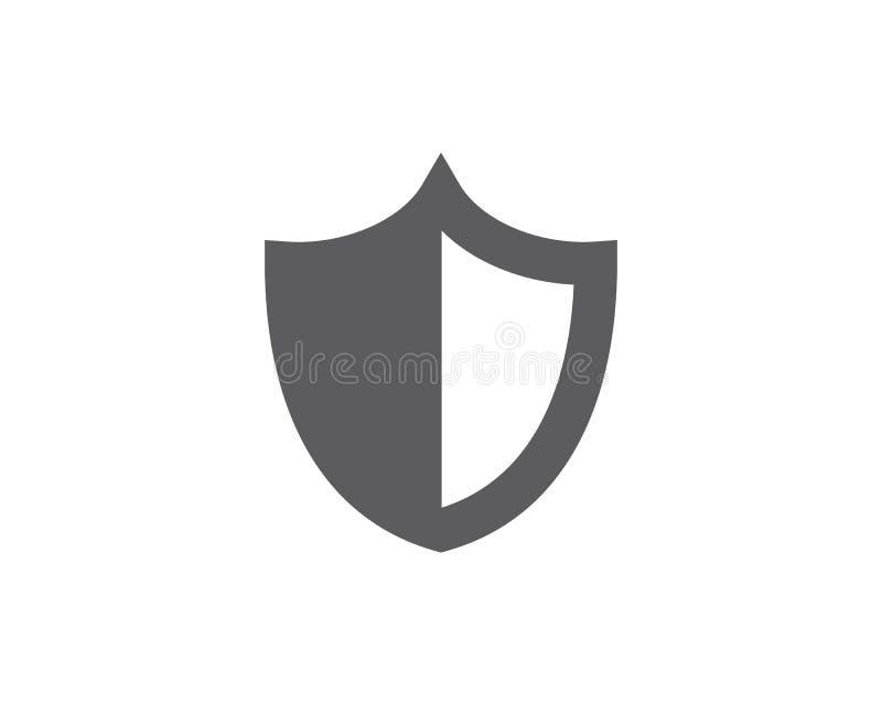 dise?o del ejemplo del vector del escudo libre illustration