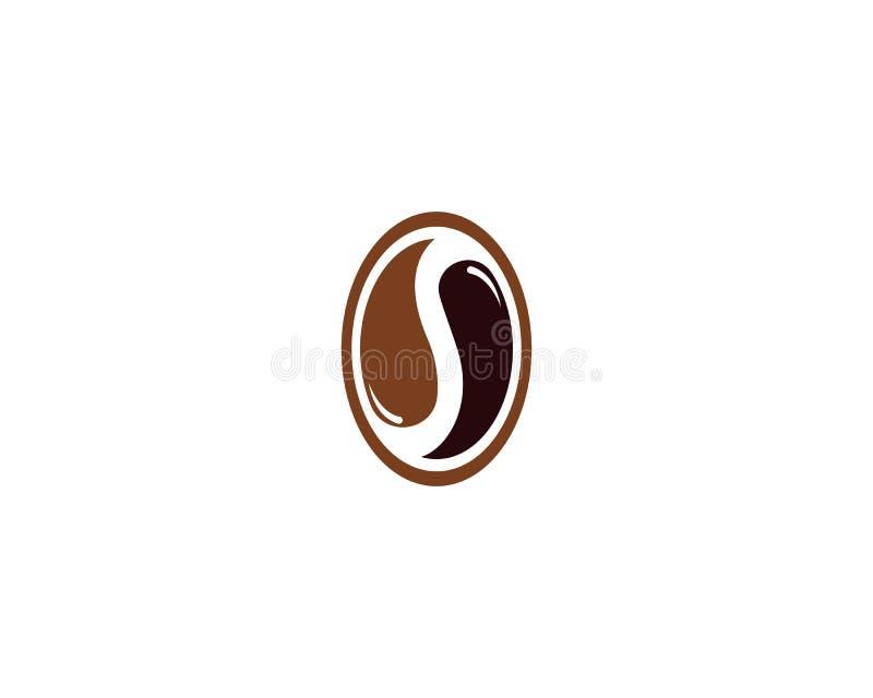 Dise?o del icono del vector de Logo Template de los granos de caf? libre illustration
