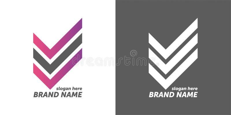 Dise?o del logotipo del vector su diseño de la marca logotipo de diseño creativo ilustración del vector