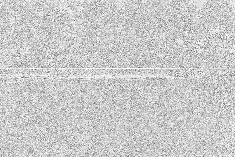 Dise?o del modelo de la pared del cemento blanco para el fondo y la textura fotografía de archivo libre de regalías