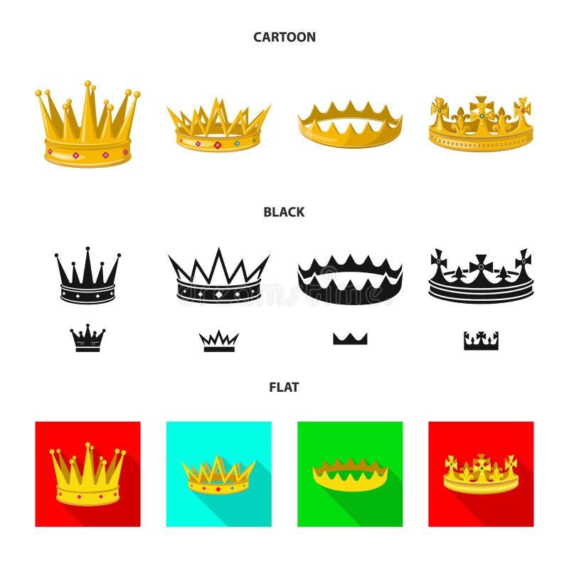 Dise?o del vector de logotipo medieval y de la nobleza Fije del ejemplo com?n medieval y de la monarqu?a del vector libre illustration