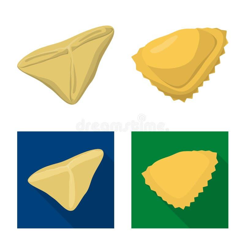 Dise?o del vector de productos y de muestra el cocinar Colecci?n de productos y de ejemplo del vector de la acci?n del aperitivo stock de ilustración