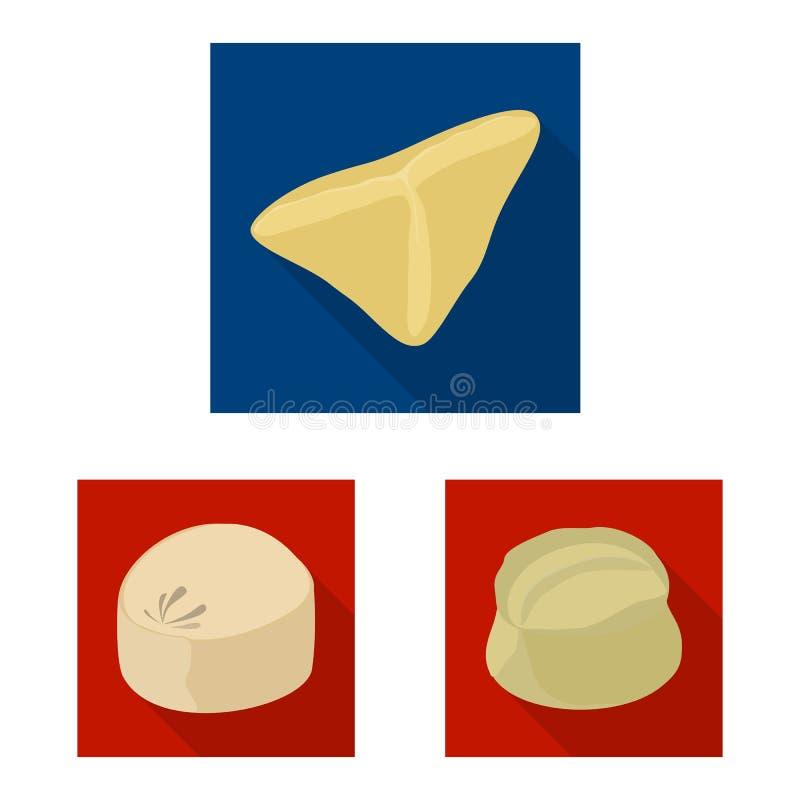 Dise?o del vector de productos y de muestra el cocinar Colecci?n de productos y de s?mbolo com?n del aperitivo para la web libre illustration