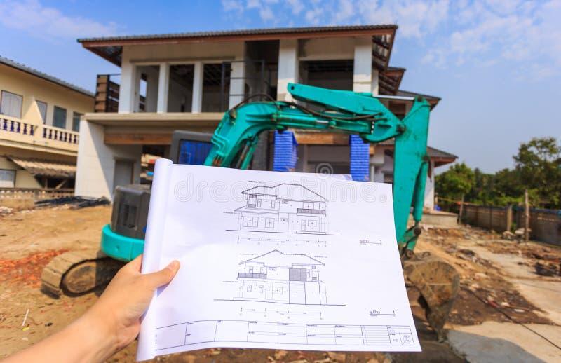 Disegni di architettura a disposizione sulla grande for Software di progettazione di costruzione di case gratuito