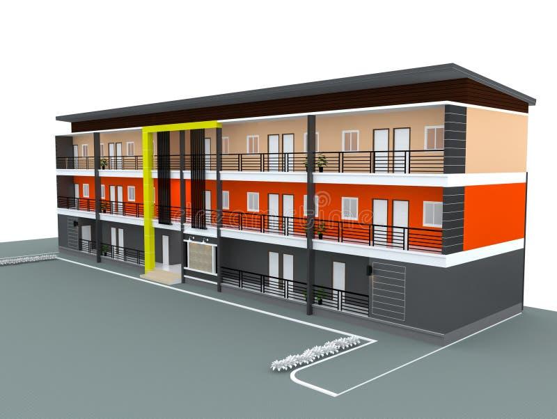 Disegni di costruzione illustrazione di stock for Software di progettazione di costruzione di case gratuito
