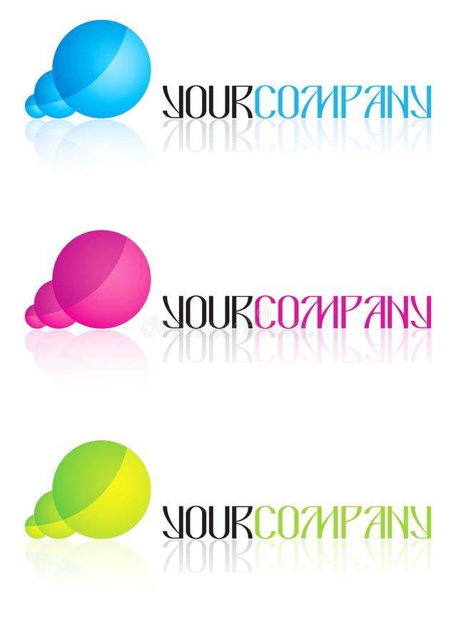 Disegni di marchio di affari illustrazione vettoriale
