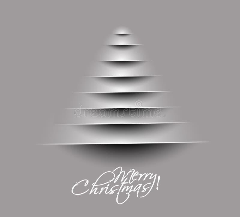Disegno allegro dell'albero di Natale royalty illustrazione gratis