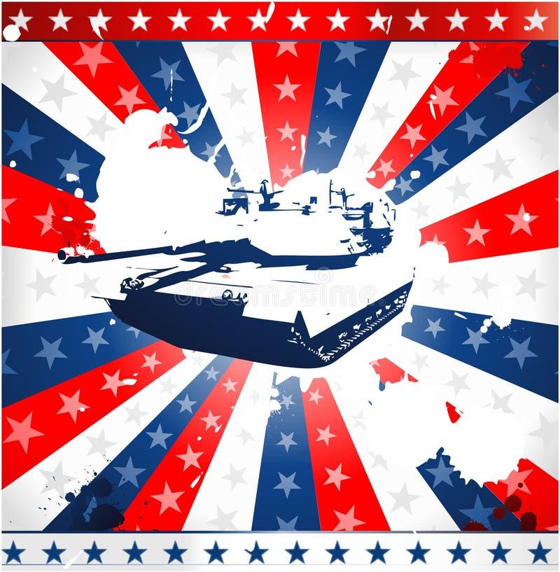 Disegno americano patriottico royalty illustrazione gratis