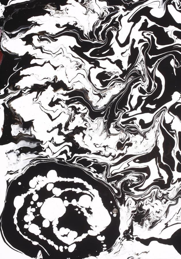 Disegno in bianco e nero della vernice   immagine stock libera da diritti