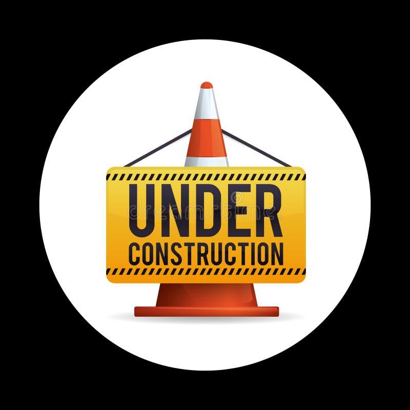 Disegno in costruzione illustrazione vettoriale for Progetta i tuoi piani di costruzione