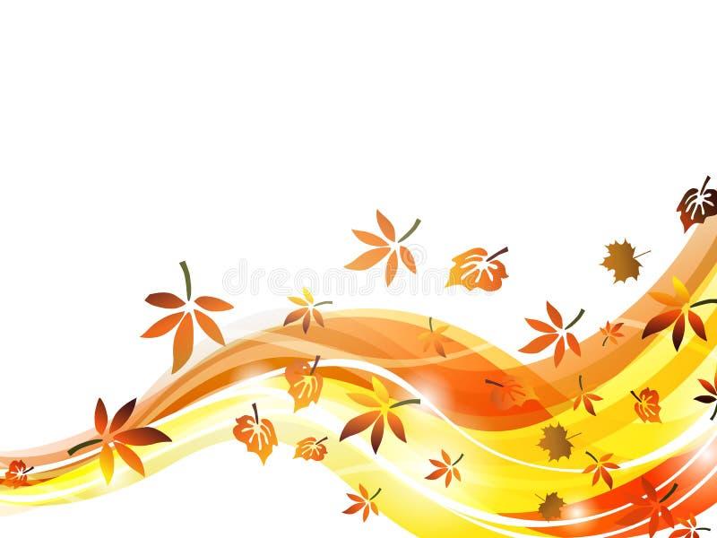 Disegno d'autunno illustrazione di stock