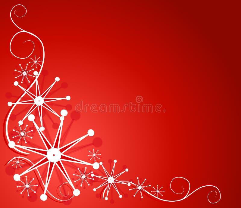 Disegno decorativo 2 del fiocco di neve royalty illustrazione gratis