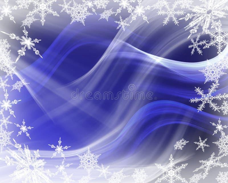 Progettazione dei fiocchi di neve immagini stock