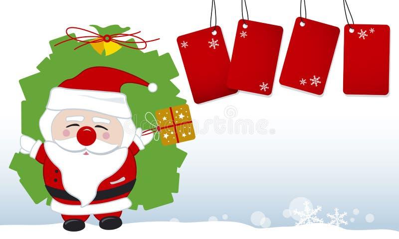 Disegno del Babbo Natale royalty illustrazione gratis