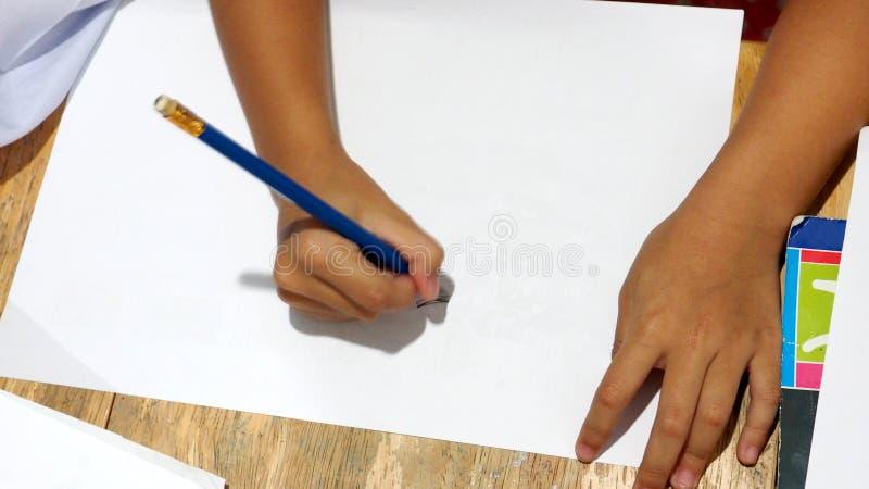 Disegno del bambino di attività immagini stock libere da diritti