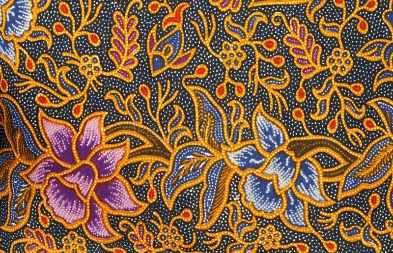 Disegno del batik immagine stock