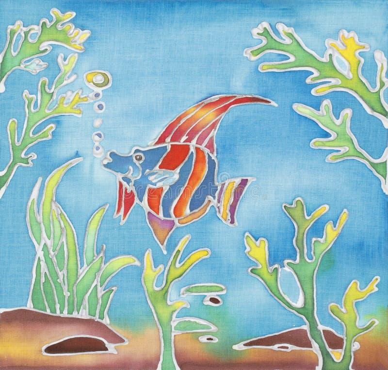 Disegno del batik fotografia stock libera da diritti