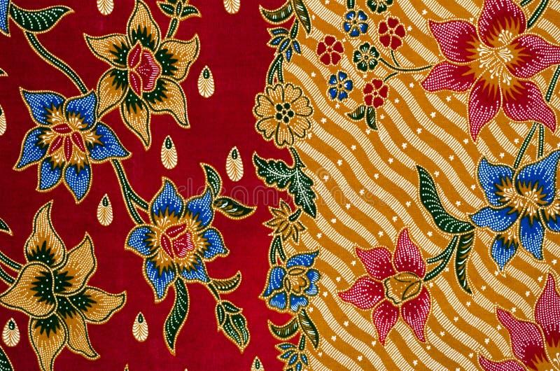 Disegno del batik fotografie stock libere da diritti