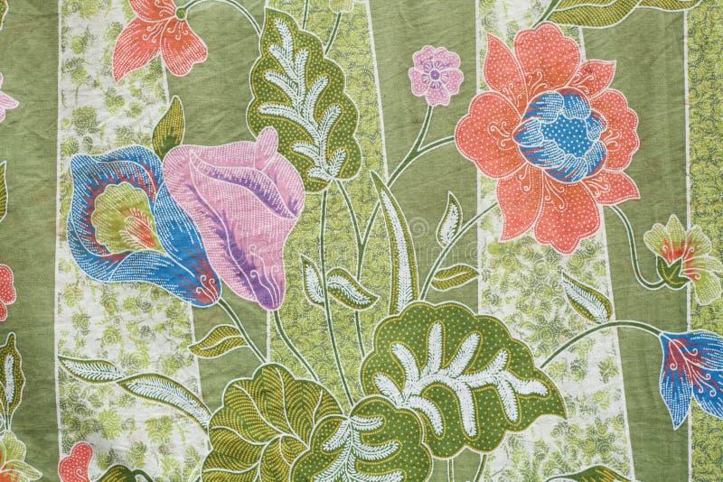 Disegno del batik in Tailandia immagini stock libere da diritti