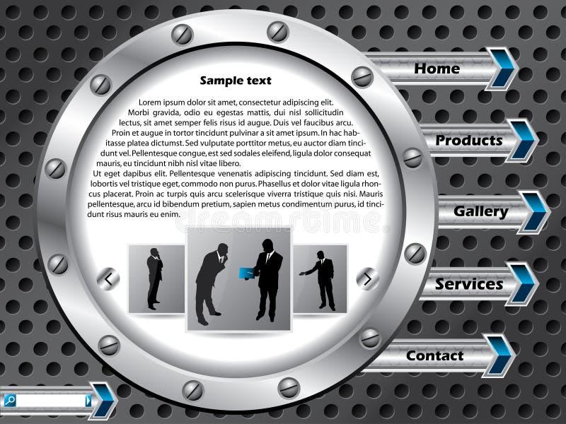Disegno del modello di Web di tecnologia royalty illustrazione gratis