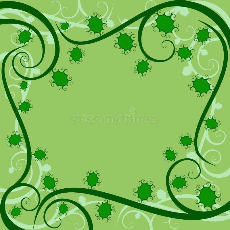 Download Disegno Dell'agrifoglio Di Swirly Illustrazione Vettoriale - Illustrazione di vite, pianta: 7305379