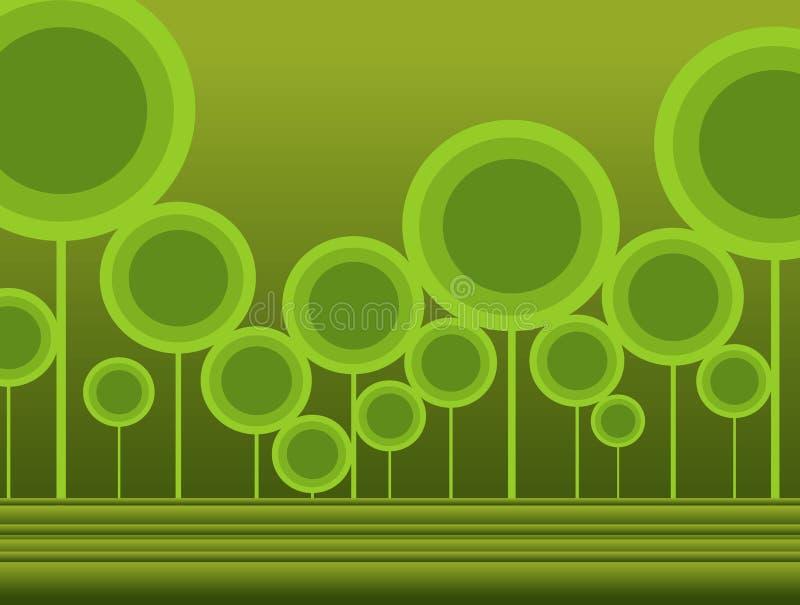 disegno dell'albero illustrazione di stock