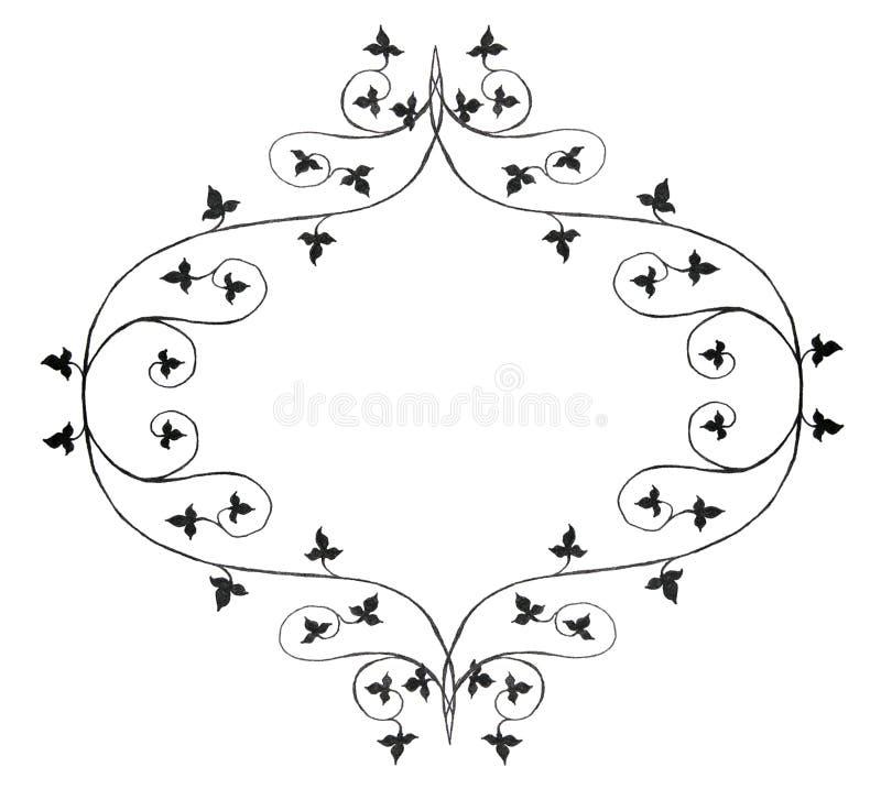 Disegno dell'edera illustrazione vettoriale