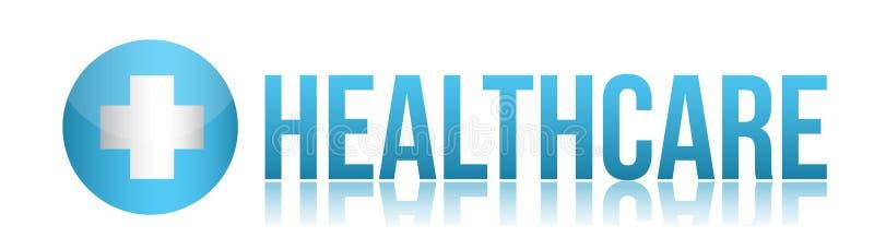 Disegno dell'illustrazione del segno di sanità royalty illustrazione gratis