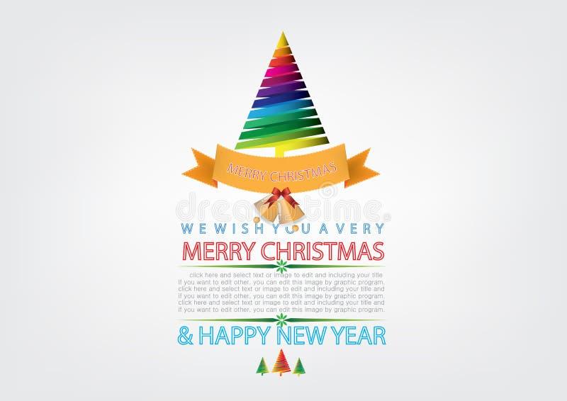 Download Disegno Della Cartolina D'auguri Di Natale Illustrazione Vettoriale - Illustrazione di festa, classico: 56882757