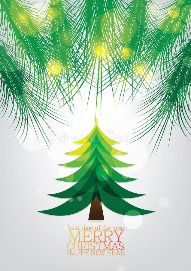 Download Disegno Della Cartolina D'auguri Di Natale Illustrazione Vettoriale - Illustrazione di arte, congratulazioni: 56883801