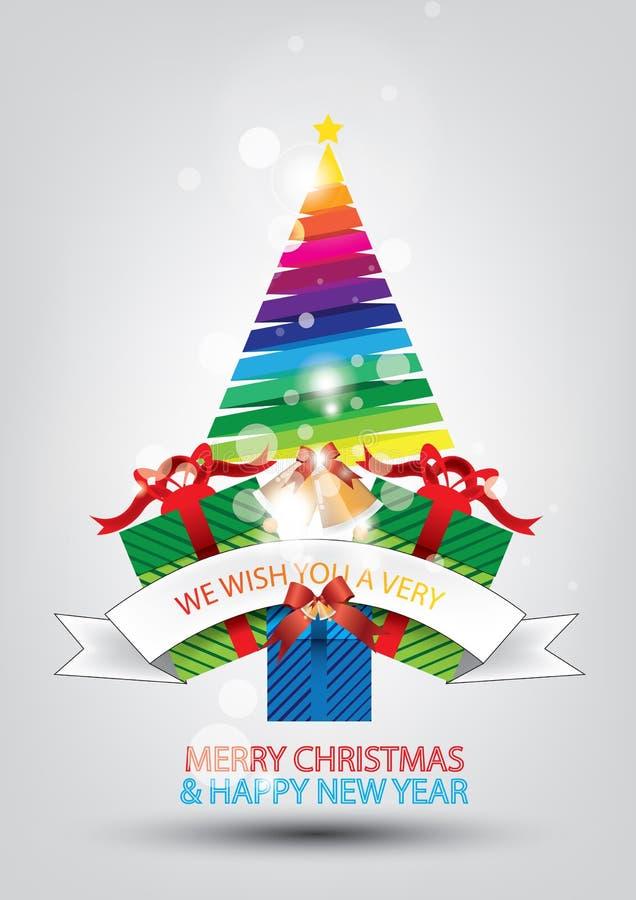 Download Disegno Della Cartolina D'auguri Di Natale Illustrazione Vettoriale - Illustrazione di idea, saluto: 56883860