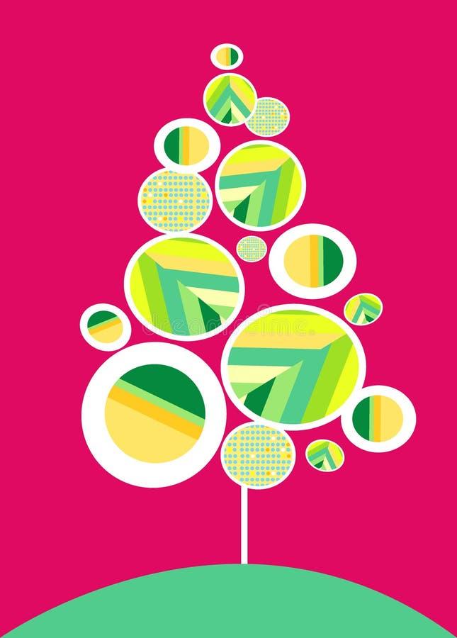 Disegno della cartolina di Natale royalty illustrazione gratis