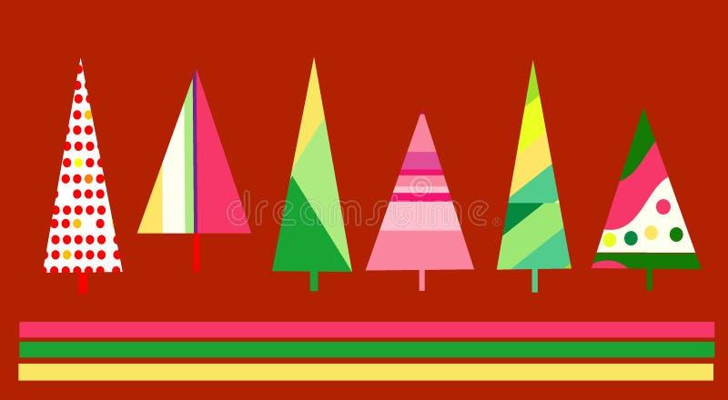 Disegno della cartolina di Natale illustrazione vettoriale