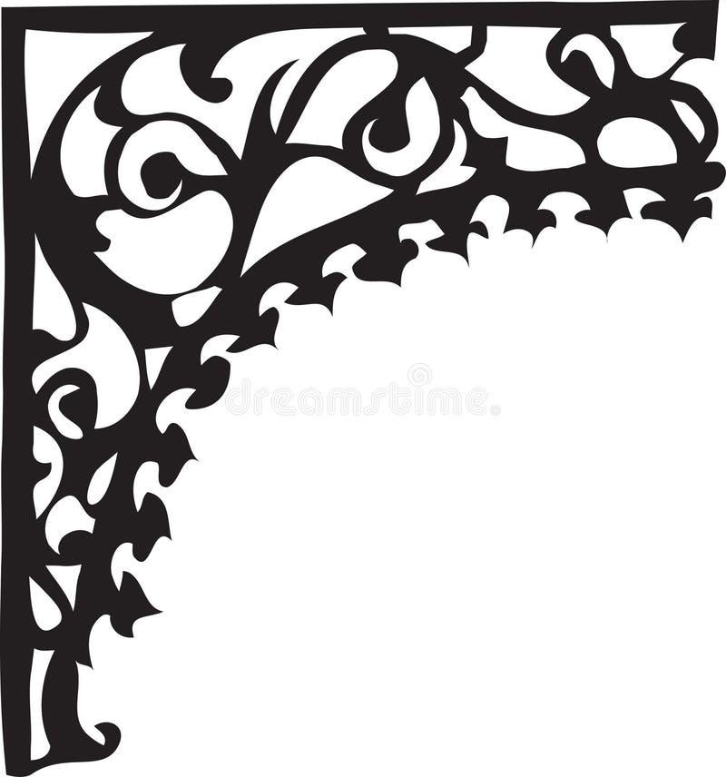 Disegno della colonna illustrazione di stock