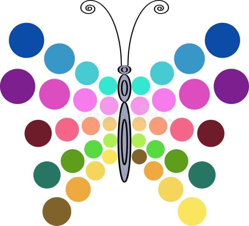 Disegno della farfalla royalty illustrazione gratis