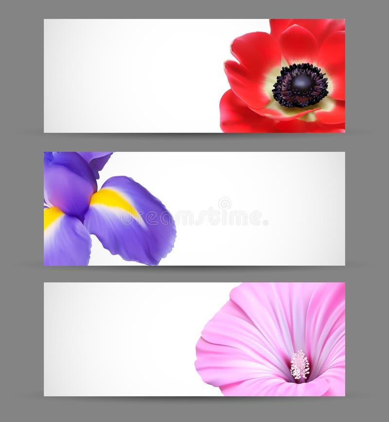Disegno della priorità bassa dei fiori della sorgente illustrazione vettoriale