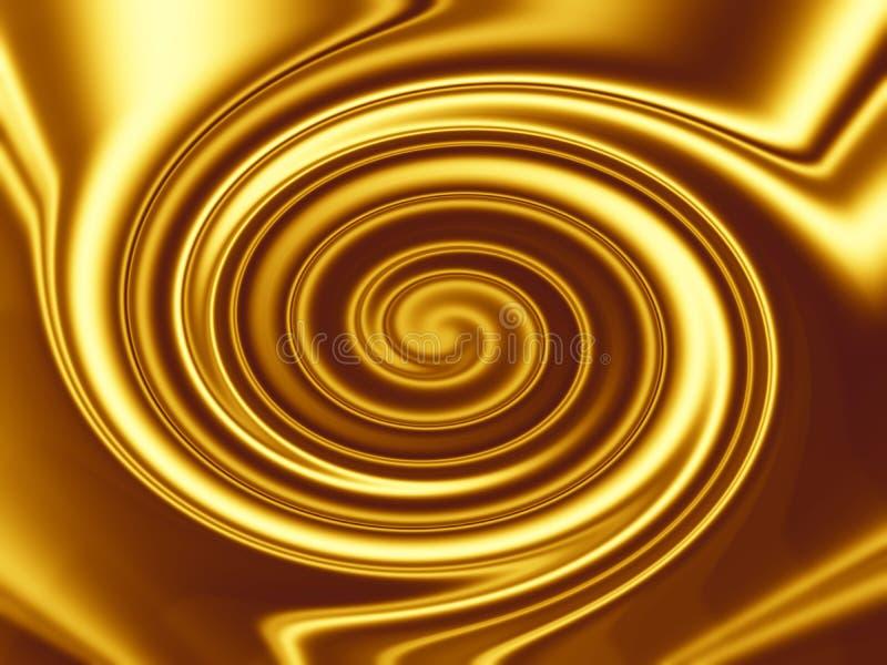 Disegno della priorità bassa dell'oro illustrazione vettoriale