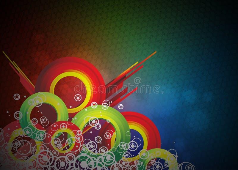 Disegno della priorità bassa di vettore di Colorfull. illustrazione vettoriale