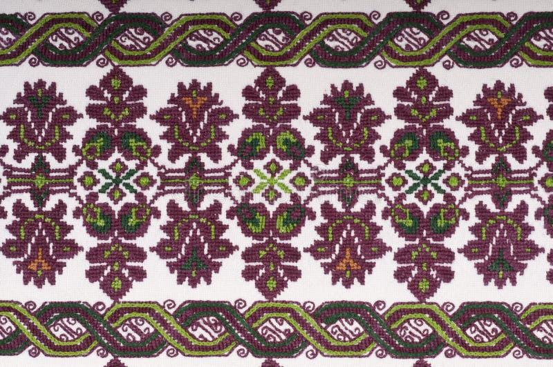 Disegno della tessile del ricamo dell'annata immagini stock libere da diritti