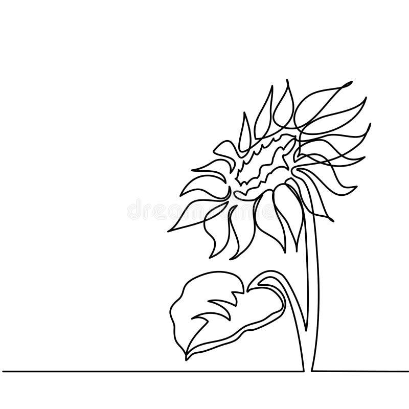 Disegno di bello fiore illustrazione vettoriale