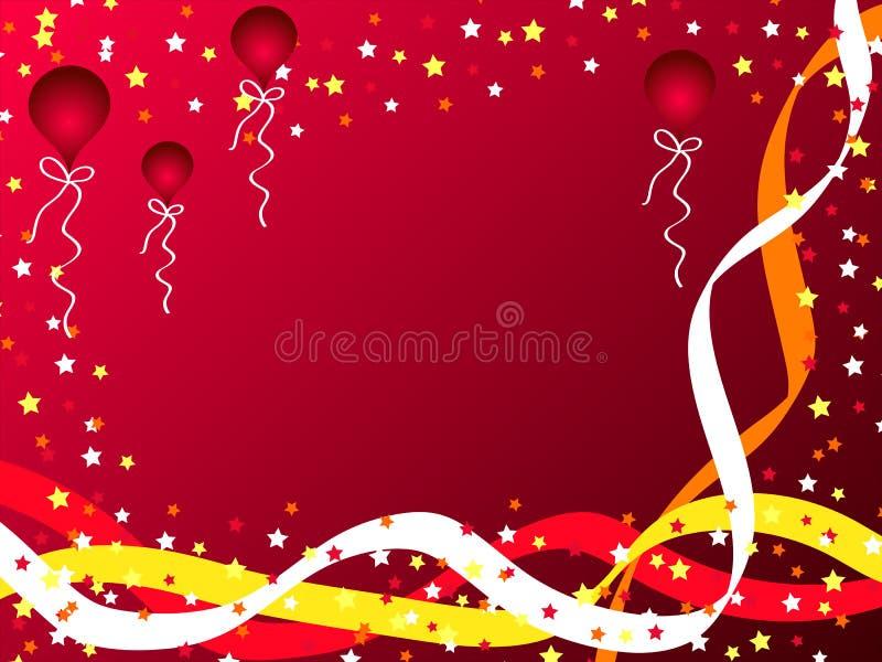Disegno di celebrazione illustrazione vettoriale