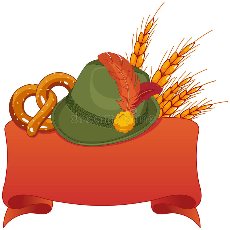Disegno di celebrazione di Oktoberfest royalty illustrazione gratis