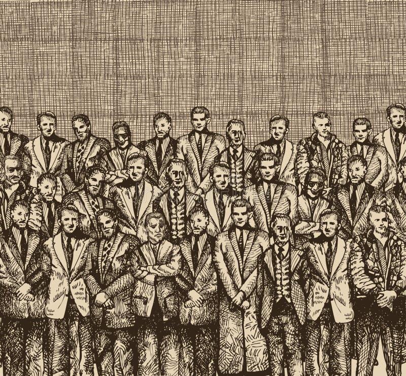 Disegno di origini illustrazione di stock