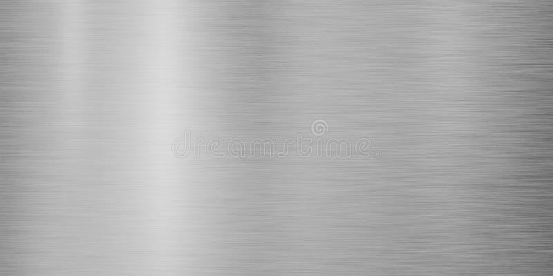 Disegno di sfondo di metallo d'argento fotografia stock