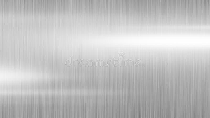 Disegno di sfondo di metallo d'argento fotografie stock