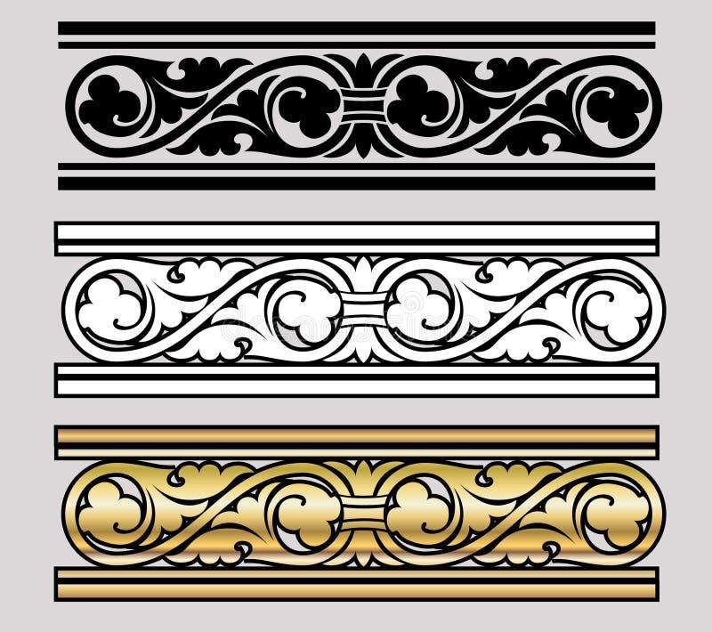 Disegno di stile di Vicrtorian royalty illustrazione gratis