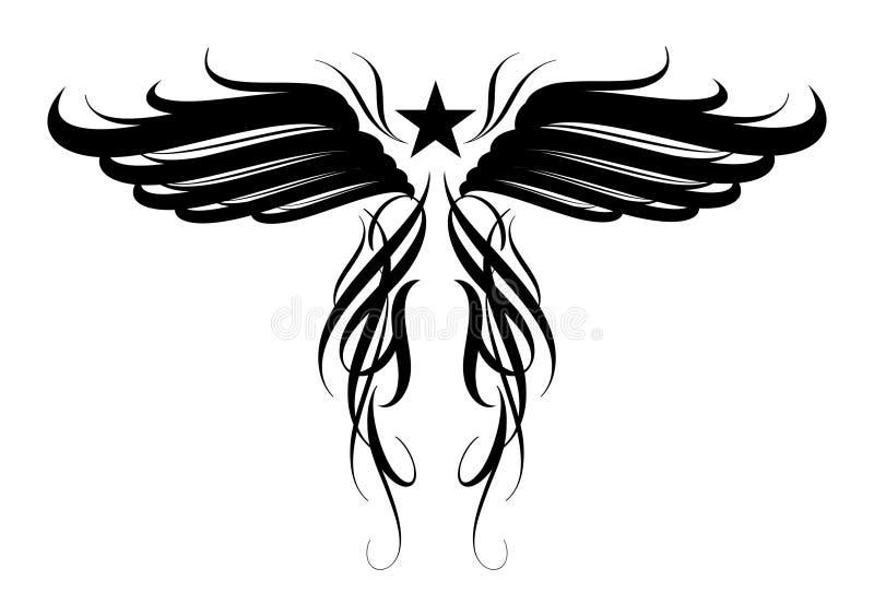 Disegno di Tatoo illustrazione vettoriale