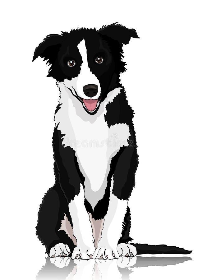 Disegno Cane Bianco E Nero.Disegno Bianco E Nero Del Cane Illustrazioni Vettoriali E Clipart