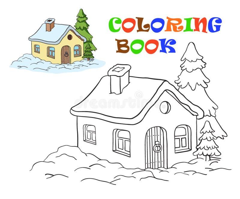 Assez Disegno Di Vettore Di Una Casa Coloritura Per I Bambini  XQ13