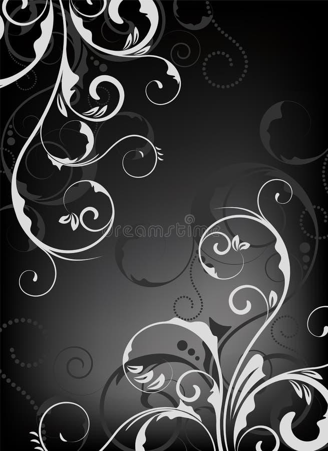 Disegno floreale/carta da parati illustrazione vettoriale